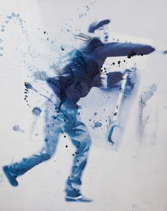 Saatchi Online Artist: Evgeny Boikov; Paint, 2013, Mixed Media Kinematics of protest I. 2
