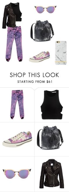 """sol seppy - slo fuzz"" by fraisenberg ❤ liked on Polyvore featuring Diesel, T By Alexander Wang, Converse, Fendi, Anine Bing and Richmond & Finch"