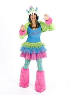 Adult Uggsy MonStar Costume | Adults Halloween Costumes | Cool Halloween Costumes