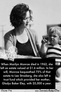 Marilyn Monroe ~read the sign! Her father SHOULD have acknowledged her, she cared for her mom even after her death. Lee Strasberg, Biological Father, Marilyn Monroe Photos, Hollywood Icons, A Star Is Born, The Old Days, Norma Jeane, Iconic Women, Forever
