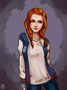 Meg Thomas by imarceline.deviantart.com on @DeviantArt