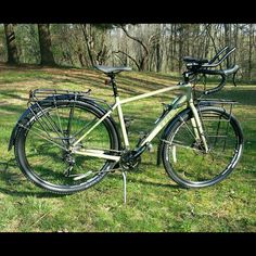 Just brought home my new Trek 920 #adventuretouring bike! This is one of my…