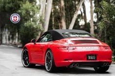 Porsche 911 (991) Carrera S Cabriolet on HRE Wheels