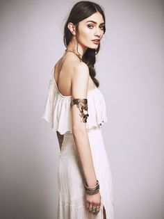 Champagne Montecarlo Dress at Free People Clothing Boutique