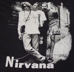 Rare Nirvana Band 'n Band Tee Like this? More GR8, unique stuff here! http://myworld.ebay.com/lotstasell