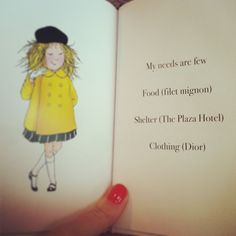 eloise is my spirit animal