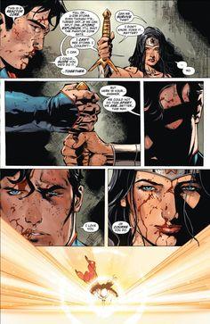 SUPERMAN, WONDER WOMAN Relationship Hits a Milestone, Has an 'Empire' Moment - SPOILERS | Newsarama.com
