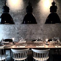 dining... suspended lighting