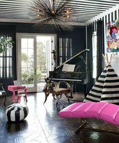 Kourtney kardashian home decor