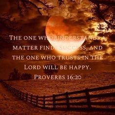 Proverbs The one who understands a matter finds success, and the one who trusts in the LORD will be happy. Prayer Scriptures, Biblical Verses, Faith Prayer, Prayer Quotes, Bible Verses Quotes, Faith In God, Jesus Christus, Favorite Bible Verses, God Loves Me