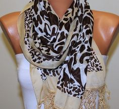 Leopard  Scarf   -  By Fatwoman, $17.00