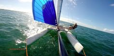 Sailing the Nacra 16 SQ QLD