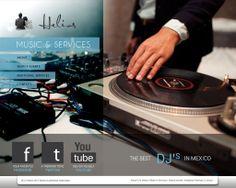 DJ Helios ® sitio web. Home.