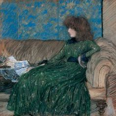 Doreathea Sharp and friends: Philip Wilson Steer - two pictures