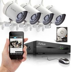 Funlux 4CH NVR 720P HD IP Network IR Outdoor Home Security Camera System 1TB    $228.98   $381.64   (116 Available)End Date: Aug 312016 07:59 AM GMT-07:00