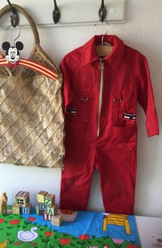 Red Overalls, Overalls Vintage, Race Party, Racing Stripes, Good Old, Vintage Children, Scandinavian, Your Style, Jumpsuit