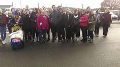 Jamie Dornan with fans in Belfast on January 14, 2016 http://www.everythingjamiedornan.com/gallery/thumbnails.php?album=36 http://www.facebook.com/everythingjamiedornan