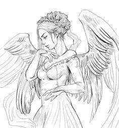 Angel by JowieLimArt.deviantart.com on @DeviantArt