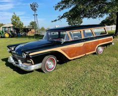 This 1957 Ford Country Squire is still on the job after 64 years. It needs a bit of TLC and rust repair but is a solid running station wagon. #CountrySquire, #Ford