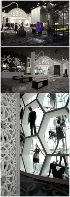 Creative Retail Store Design/ Layout