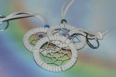 Dreamcatcher Keychain  White Exterior by toxicdarque on Etsy, $5.00