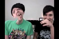 Dan and Phil photo booth challenge