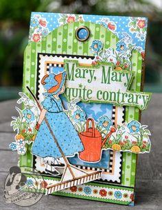 Graphic 45 Mother Goose Easel Card - Scrapbook.com