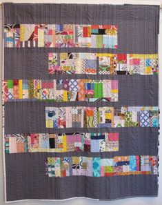 Just Sew by Margaret Glendening - scrap vortex style quilt Scrappy Quilts, Easy Quilts, Mini Quilts, Star Quilts, Patch Quilt, Quilt Blocks, Crumb Quilt, Scrap Quilt Patterns, Block Patterns