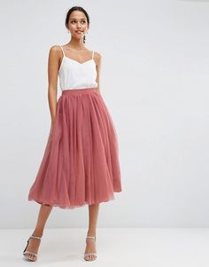Tulle Prom Skirt with Multi Layers - -. - Tulle Prom Skirt with Multi Layers – – Koch Source by - Midi Skirt Outfit, Skirt Outfits, Dress Skirt, The Dress, Tulle Wedding, Midi Skirt Wedding, Asos Wedding, Ball Gowns, Bridesmaid Dresses