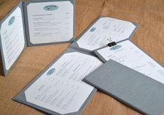 Cartas para restaurantes. www.silviagali.com
