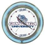 14 in. Gonzaga University Neon Wall Clock, Multi