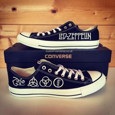 Custom Converse   Hand Painted individual designs all made to order