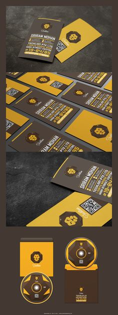 "Techlion is a corporate branding project between technology and  ""Panthera Leo""  The distinctive look of the Lion as well as the color chosen create the main approach for the branding  outline."