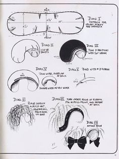 The half hat pattern. Versatile for many eras. #halfhat