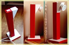 DIY desktop lamp (The Lighthouse) #woodworking #lighting #decoration
