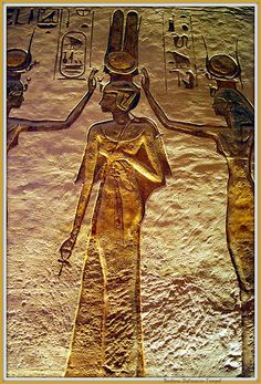 Relief in Abu Simbel Temple, Egypt (by Barbara Tempel)