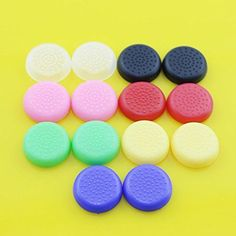 Gotor 14 X TPU Silicone Rubber Gel Analogue Thumb Grip Stick Cover Caps For Sony PS4 PS3 PS2 Xbox 360 Xbox One S Analog Controller ** Continue to the product at the image link.