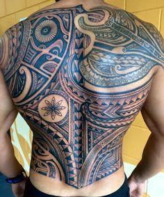 Poly back panel