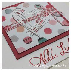 Stempel-Kreativ.de - Kreativ Karten gestalten: Alles Liebe ...