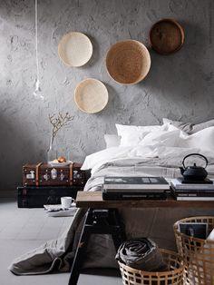 Dreamy natural Ikea bedroom