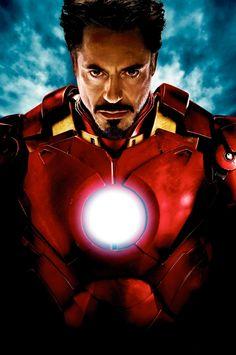 Robert Downy Jr. in Iron Man (2008)