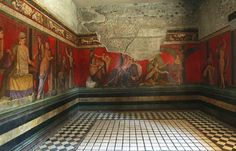 Pompeii's largest house Villa dei Misteri (Villa of the Mysteries), famous for its frescoes of the cult of Bacchus or Dionysus, reopened Thursday after a two-year restoration and a three-month closure for work on its paving.