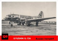 Ilyushin IL-12A  -  Jeff Sexton - Google+