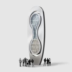 Environmental Sculpture, Rendering Software, Photoshop Help, Hourglass Shape, Simple Shapes, Design Firms, Industrial Design, Design Ideas, Hourglass