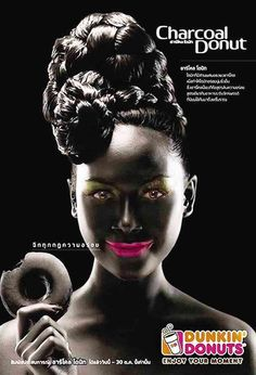 Dunkin' disorderly: Donut company is criticised for 'racist' advert depicting 'blacked up' model Vintage Advertisements, Vintage Ads, Donut Company, Academic Writing Services, Human Rights Watch, Media Literacy, Dunkin Donuts, Print Ads, Socialism