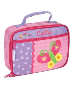 Look what I found on #zulily! Pink Personalized Butterfly Lunch Box #zulilyfinds
