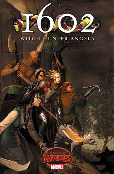 1602 WITCH HUNTER ANGELA #2 MARGUERITE BENNETT with KIERON GILLEN (w) STEPHANIE HANS WITH Irene Koh (a) Cover by STEPHANIE HANS
