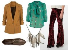 Outfit #5 (Fashion Inspired by David Bowie)