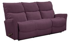 The thought of downsizing doesn't have to invoke feelings of sadness. Quite the opposite where the Rowan is concerned. With its clean lines and contemporary styling, it's a bit smaller in scale than many sofas. So it's perfect for tight spaces. And you only need to be a few inches from a wall to recline. That ought to make anybody happy.