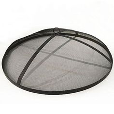 Fire Pit Spark Screen Fireplace Cover Protector Lid Top 19 ...